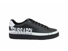 TRUSSARDI 77A00210 Sneaker Pelle Bianco Nero