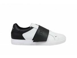 TRUSSARDI 77A00198 Sneaker Pelle Bianco Nero