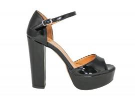 ADELE 5601 Sandalo Vernice Nera