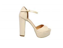 ADELE 5601 Sandalo Vernice Beige