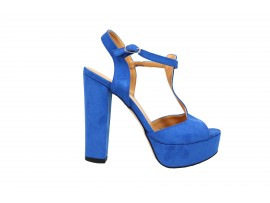 ADELE 5603 Sandalo Camoscio Bluette