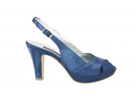 L'AMOUR 717 Sandalo Raso Blu