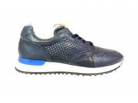 MORELLI  80539Scarpa Pelle Blu
