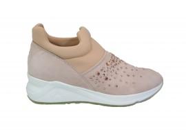 MORELLI 75786 Sneaker Camoscio Nudo