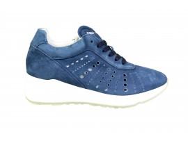 MORELLI 75791 Sneaker Camoscio Blu