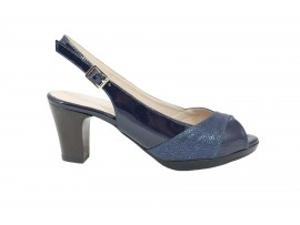 CINZIA SOFT 311874 Sandalo Vernice Blu