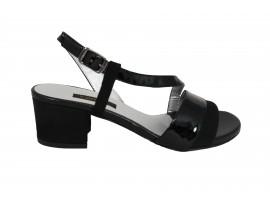 L'AMOUR Sandalo Camoscio Nero