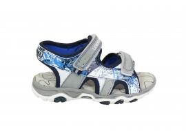 LUMBERJACK Sandalo Bianco Blu