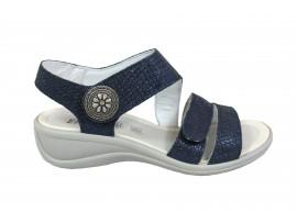 ENVAL SOFT Sandalo Basso Pelle Blu
