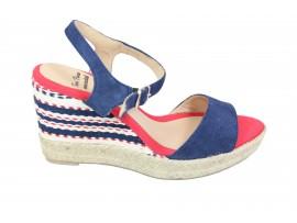 TONI PONS Sandalo Camoscio Blu