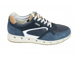 IGI&CO 7716000 Sneaker Camoscio Blu