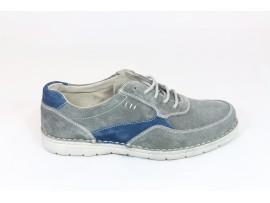 TRENOGARINE Sneaker Camoscio Grigio