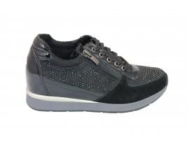 Energy Sneakers Camoscio Nero