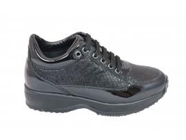 LUMBERJACK 01305 Sneaker Vernice Nero