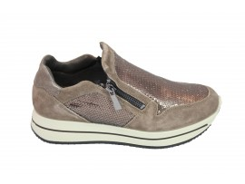 IGI&CO 87586 Sneaker Camoscio Fango
