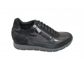 IGI&CO 87863 Sneaker Camoscio Nero
