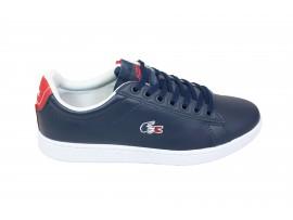 LACOSTE 3144 Sneaker Pelle Blu