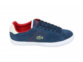LACOSTE Sneaker Camoscio Blu