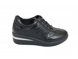 GATTINONI 0550-000 Sneaker Pelle Nero