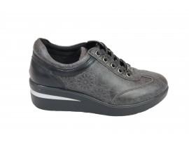 GATTINONI 0550-105  Sneaker Pelle Grigio