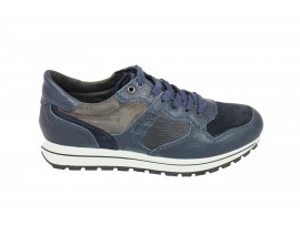 IGI&CO Sneaker Camoscio Blu