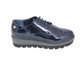 XTI 47290 Scarpa Vernice Blu