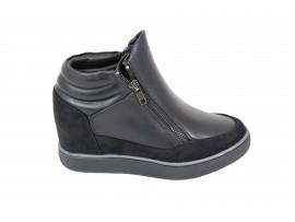XTI 47439 Sneaker Alta Pelle Nero
