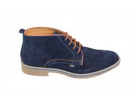 XTI 47071 Scarpa Camoscio Blu