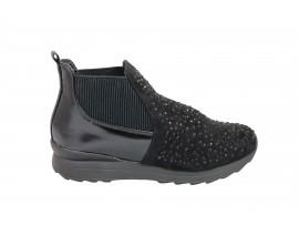 FRANCESCO MILANO M201T Sneakers Camoscio Nero