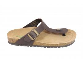 WALKASAN Sandalo Pelle Testa di Moro